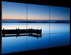 Видеостена 3x3 из панелей 55 дюймов