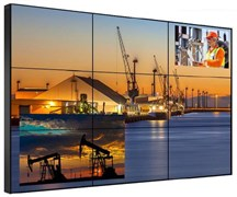 Видеостена 3х3 из панелей LG 49 дюймов