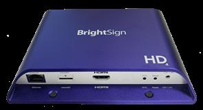 Профессиональный медиаплеерBrightSign HD224