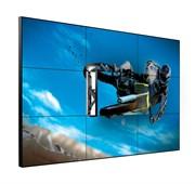 Видеостена 3х3 из панелей LG 55VH7E, 165″, шов 1,8 мм; настенное выдвижное крепление (Euromet)