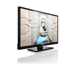 """Профессиональный светодиодный LED-телевизор 24"""" Studio, светодиодный, DVB-T/C MPEG 2/4  24HFL2819D/12 Philips - фото 14962"""
