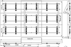 Настенный кронштейн для видеостены 3х3 8696UMV - фото 16592