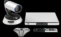 Система для организации видеоконференцсвязи, до 6x соединений c возможностью активации MCU до 16, PTZ камера,18x Zoom, 60кадр/c - фото 18112