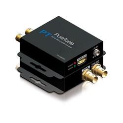 Проходной конвертер PureTools PT-C-SDIHD сигнала 3G/HD-SDI в HDMI - фото 21068