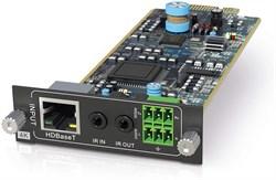 Приемная плата HDBaseT PureTools PT-FMX-IBT - фото 21175