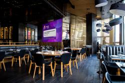 Интерьерный экран 3х4 м для кафе и баров - фото 28542