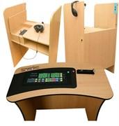 Мобильный лингафонный кабинет Lingua-Tronic с мебелью на 10 мест