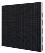 Уличный светодиодный видеоэкран, видеостена 6 на 2,4 метра, шаг пикселя 10 мм