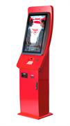 """Сенсорный терминал Aura 32"""" для автоматизированной продажи билетов"""