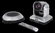Конференц-камера, PTZ, 12х опт. + 1.5 циф. увеличение, FullHD, полнодуплексный спикерфон (10 вт), обновленная модель, RS-232, UVC