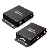 Комплект удлинителей PureTools PT-E-HD50 HDBaseT сигнала с выходами HDMI, двунаправленного IR, AV, Ethernet, RS-232 и PoC, FullHD до 100m