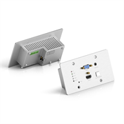 Врезная панель PureTools PT-HDBT-701-TXWP для передачи HDMI + VGA + Audio через HDBaseT  4K, 40m 4K / 70m 1080p