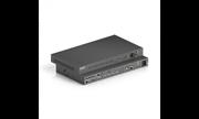 Коммутатор (Свитчер) PureTools PT-PSW-92 с масштабированием 9x2, поддержка 4K, 3х контакт. Микр. Вх., HDMI и HDBT выходы, Балансное аудио + усилитель