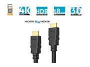 Sonero X-PHC000-015 высокоскоростной HDMI-HDMI кабель с поддержкой 4K и Ethernet - 1,50 м