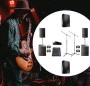 Комплект звука для живых выступлений
