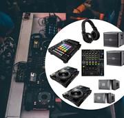 Комплект DJ оборудования для клубов профессиональный