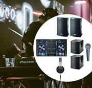 Комплект DJ для дискотеки универсальный