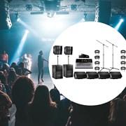 Комплект для концертных залов (компактный и мощный) (8 киловатт)