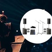 Аудиокомплект для небольших залов (2 киловатта)