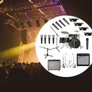 Бэклайн - универсальный комплект профессионального уровня для концертных залов