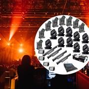 Комплект профессионального светового оборудования для больших концертных залов
