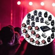 Мобильный комплект сценического света  для крупных мероприятий