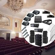Комплект профессионального звукового оборудования для актовых залов от 500 человек