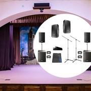 Комплект звука для школьного актового зала
