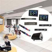 Комплект настенной акустики для образовательных учреждений (5000 -5500 квадратных метров)