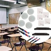 Фоновый звук для образовательного учреждения (500 - 1500 квадратных метров)