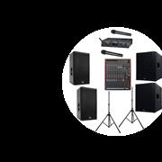 Мобильный комплект звука для линейки и  уличных мероприятий (6000 Ватт)