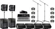 Мобильный комплект для провидения школьных и университетских линеек на открытом воздухе   (8 киловатт)