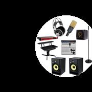 Комплект оборудования для школьной студии звукозаписи под ключ