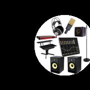 Комплект звукового оборудования для класса звукозаписи в образовательном учреждении
