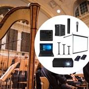 Комплект всероссийский виртуальный концертный зал аудио и видео оборудования для среднего зала (60-160 мест)