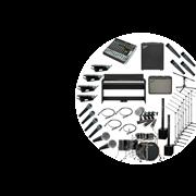 Комплект звукового оборудования для музыкальных школ с комплектом инструментов
