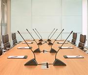 Конгресс система аудио конференц-связи, настольная система, рассчитан на проведение совещаний в конференц-залах средних размеров, до 15  человек