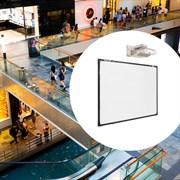 Комплект: мультимедийная интерактивная доска 87 дюймов