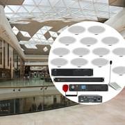 Комплект системы звукового оповещения для многоэтажного ресторана