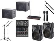 Комплект звукового оборудования INVOTONE мощностью 3000 Вт