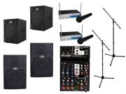 Комплект звукового оборудования Peavey мощностью 3600 Вт