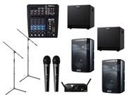 Комплект звукового оборудования Alto мощностью 1800 Вт