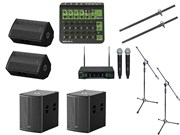 Комплект звукового оборудования Volta мощностью 1800 Вт
