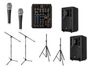 Комплект звукового оборудования RCF мощностью 800 Вт