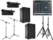 Комплект звукового оборудования QSC мощностью 2000 Вт