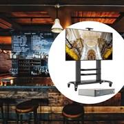 Комплект системы трансляции видео для ресторанов и баров