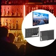 Бесшовная видеостена премиум класса LG 2x2 для кафе