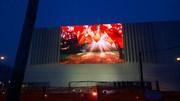 Медиафасад для торгового центра 10,5х6 м