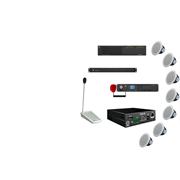 Система оповещения для диспетчерских центров до 12 зон