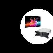 Комплект системы видеомониторинга для диспетчерских центров